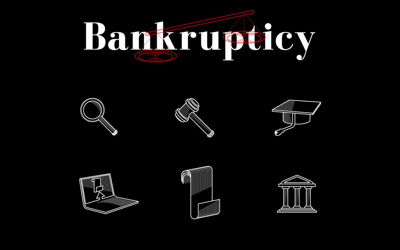 BANKRUPTICY icon grafico milano chaubet