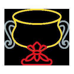 icon grafico milano coppe