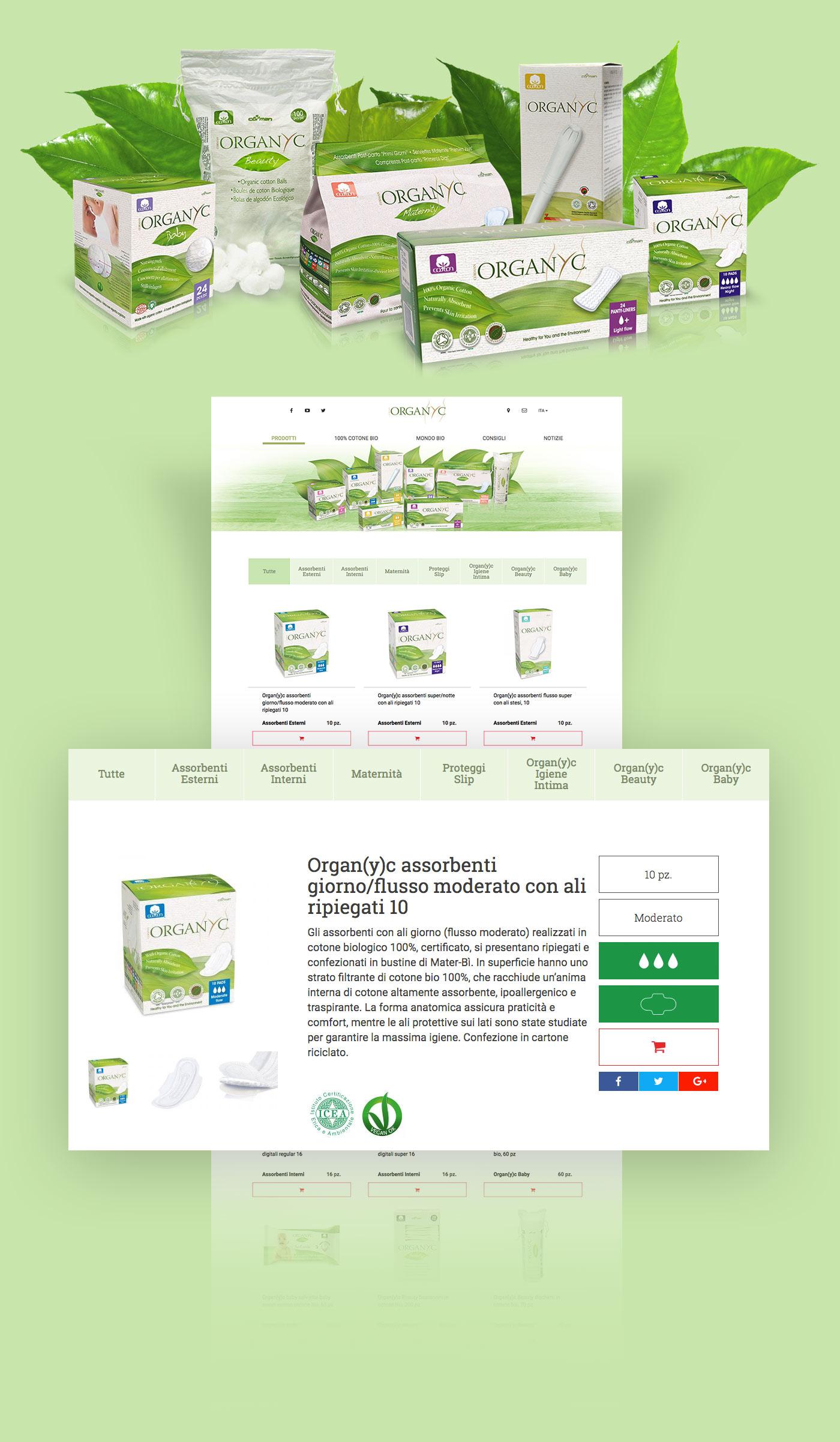 prodotti organyc grafico milano chaubet