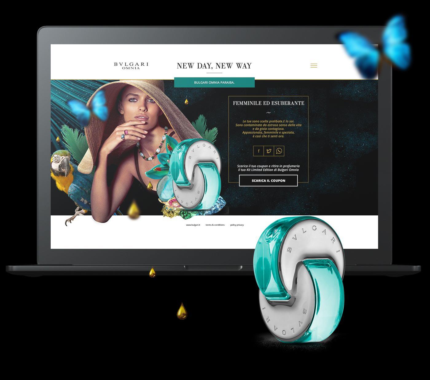 bulgari omnia grafico milano homepage