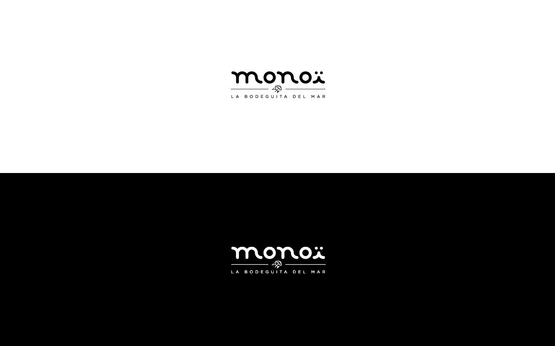 monoi logotype grafico milano