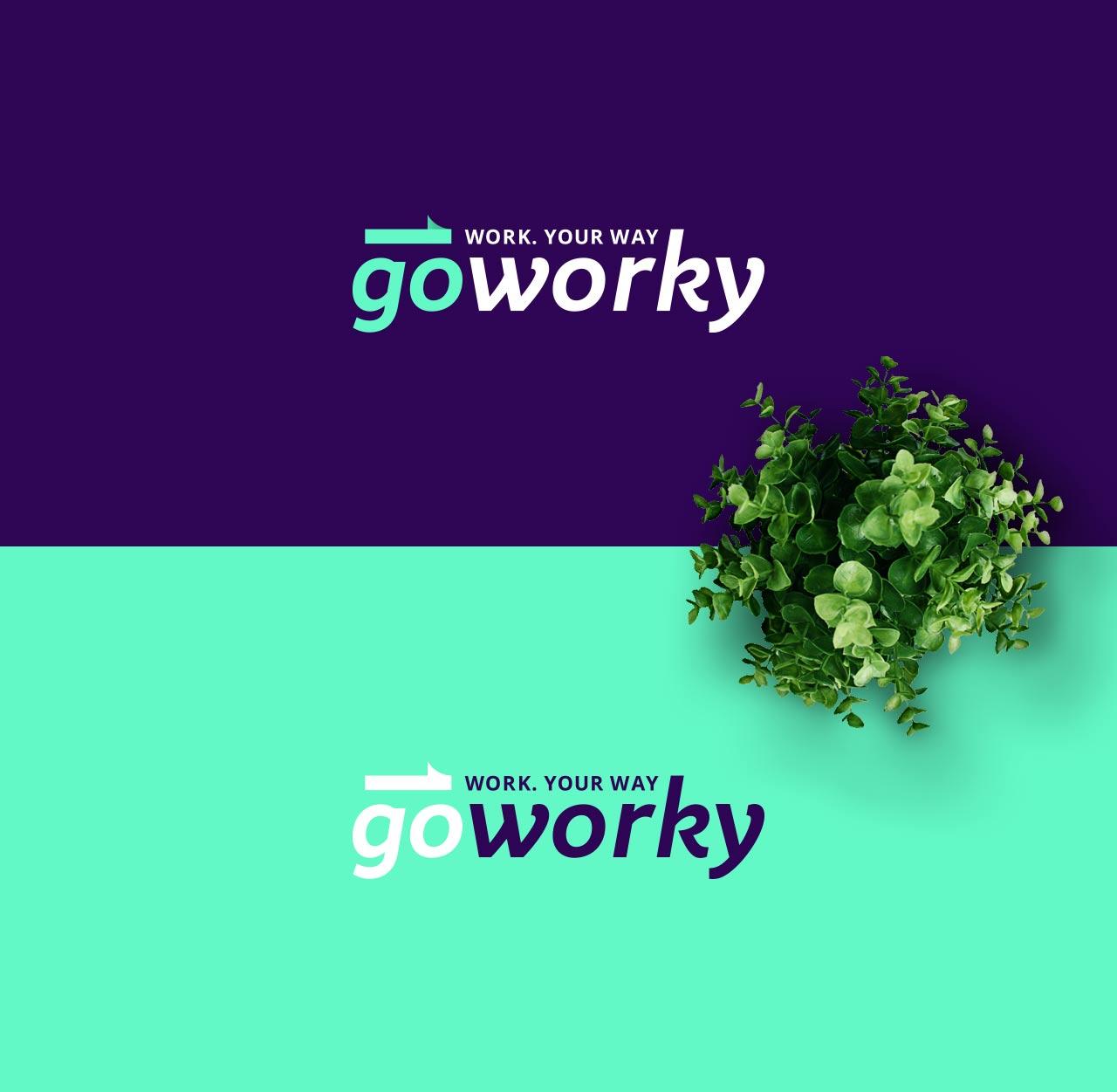 goworky logo brand grafico milano 1