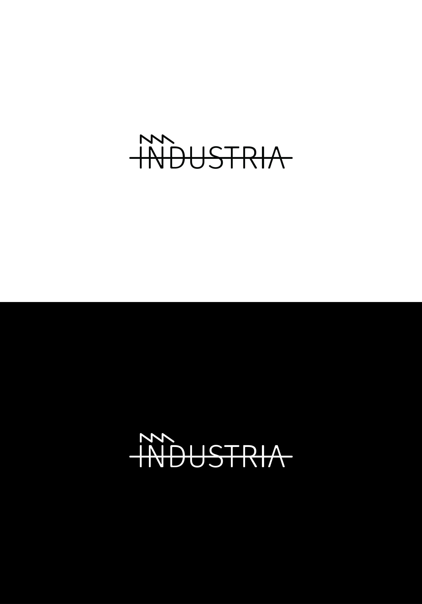 industria logo design 1