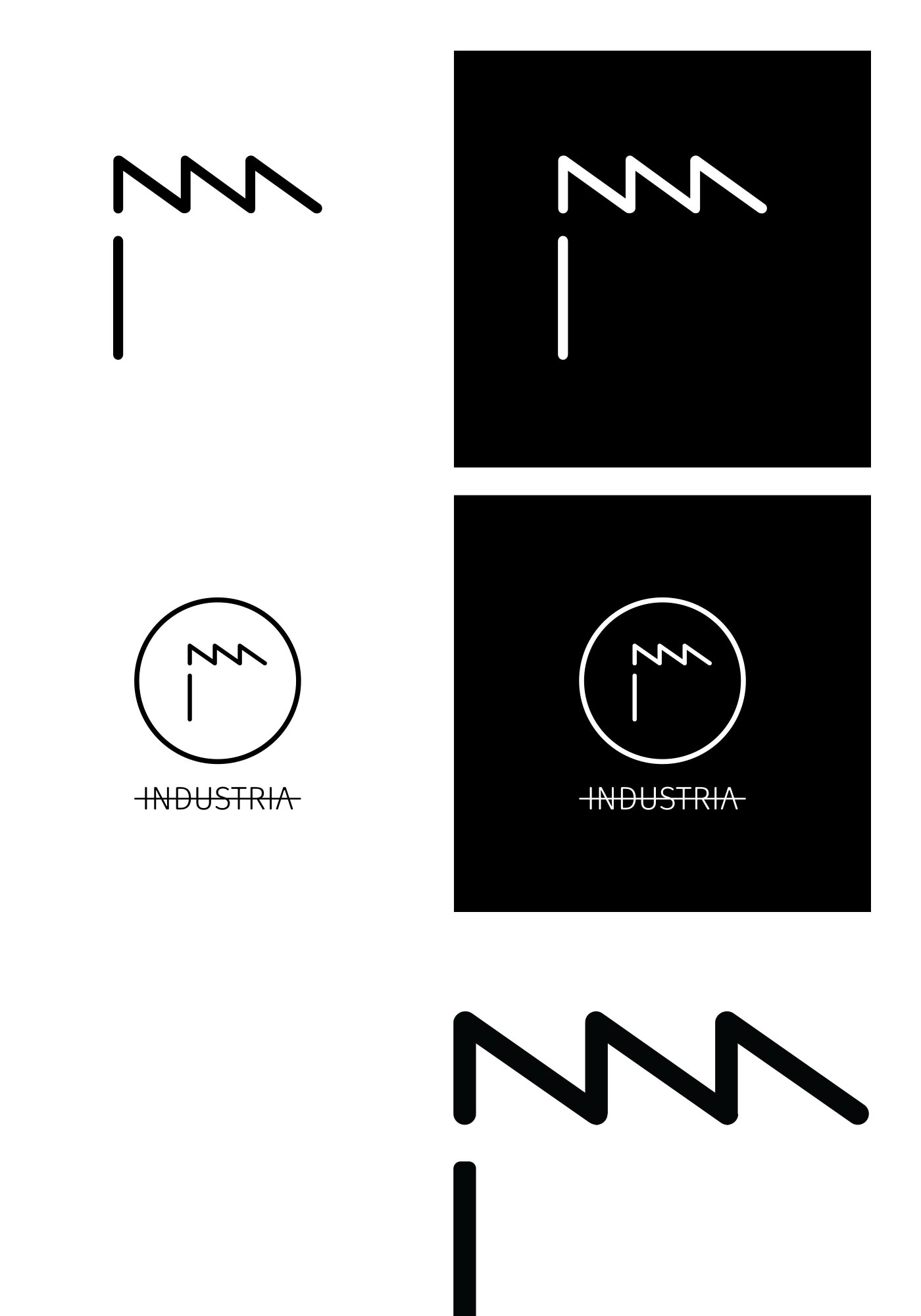 industria logo design 2