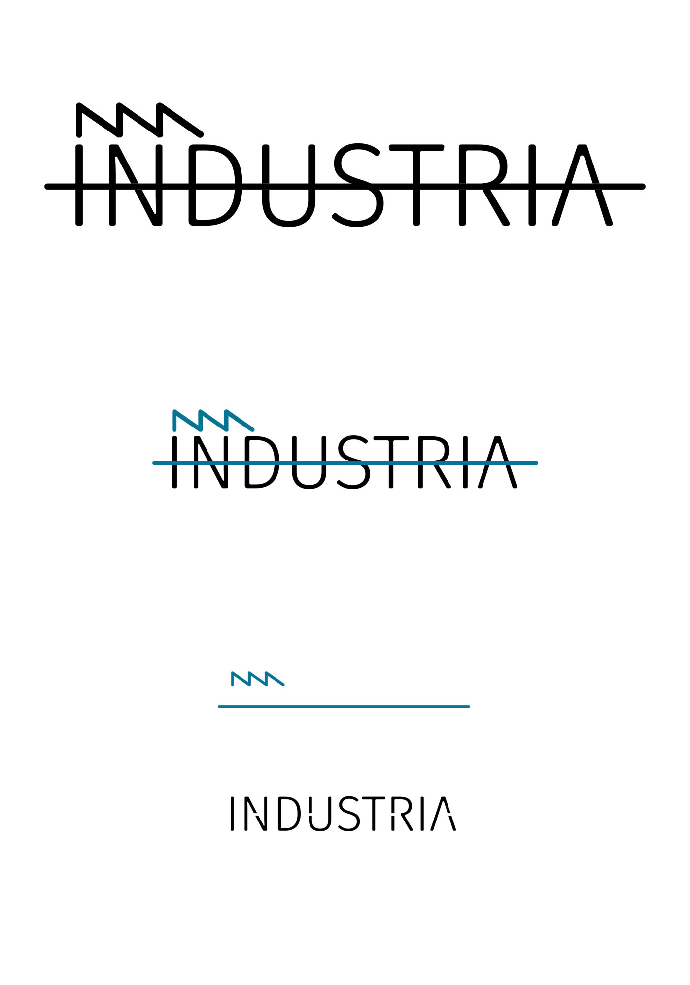 industria logo design