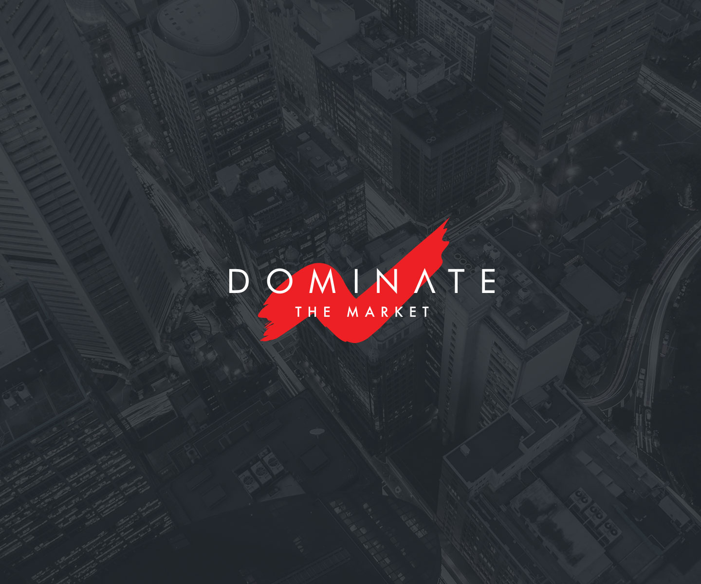 01 logo dominate the matket grafico milano nicola chaubet