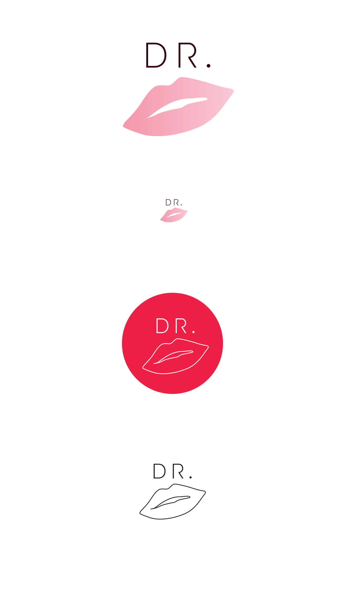 06 logo dr lips grafico milano nicola chaubet
