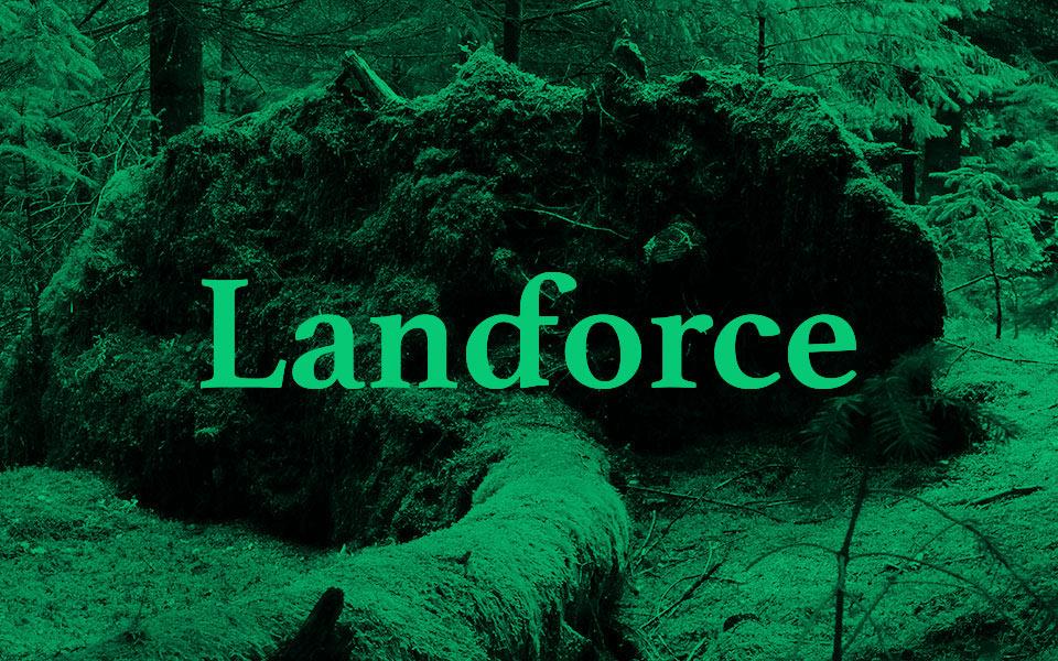 land force lettering grafico milano nicola chaubet