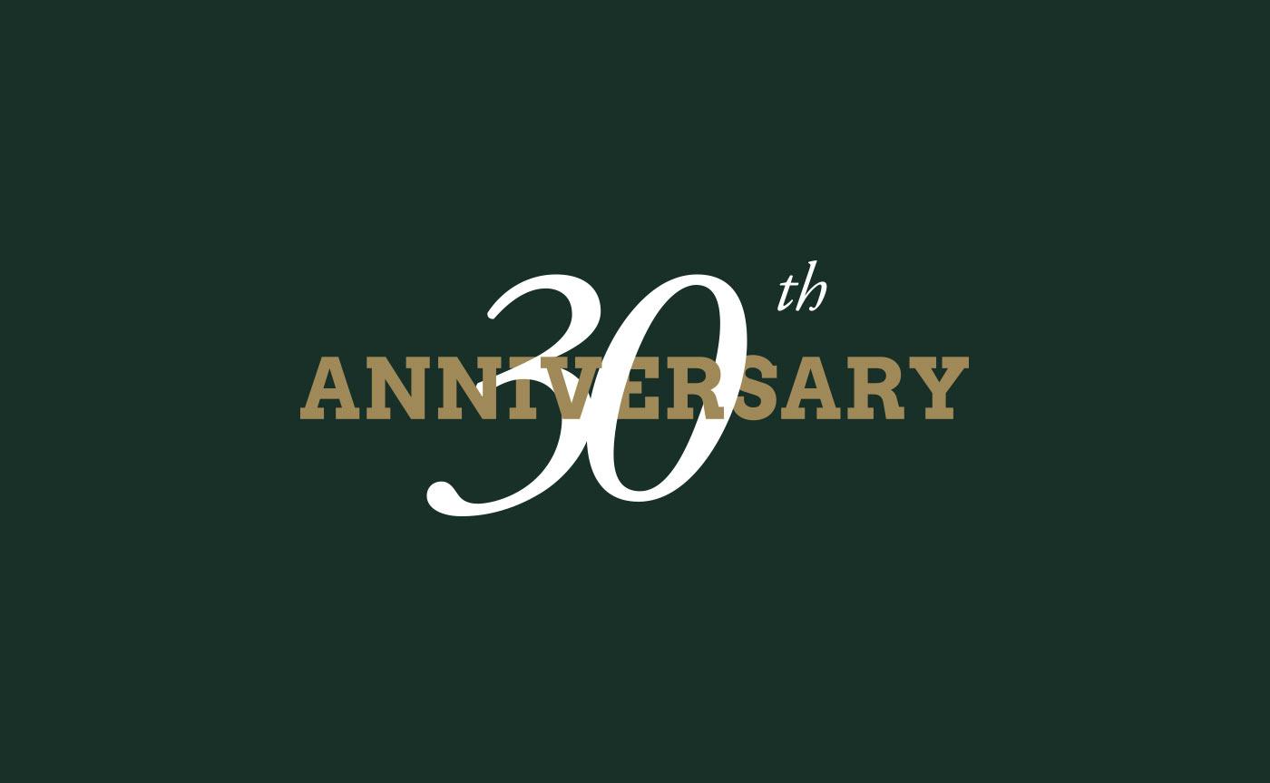 logo anniversary 30 anni reflex grafico milano 05