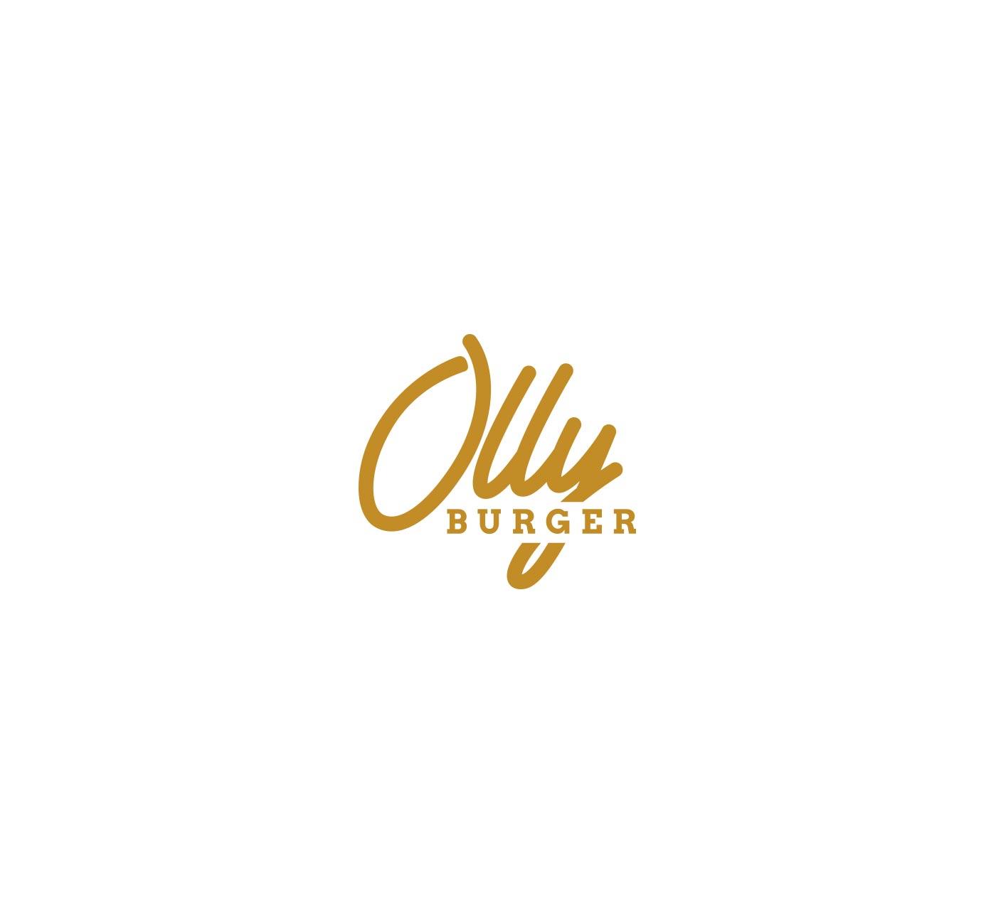 02 OLLY BURGER logotype grafico milano