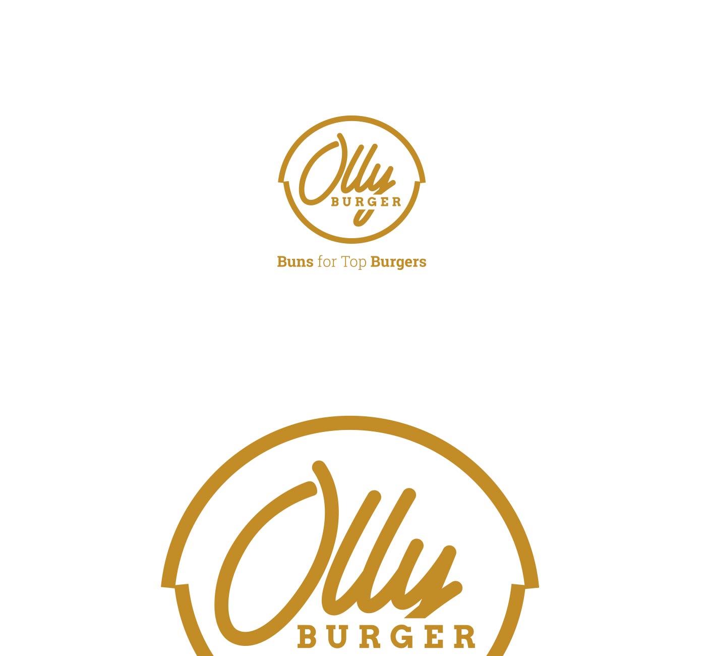 06 OLLY BURGER logotype grafico milano