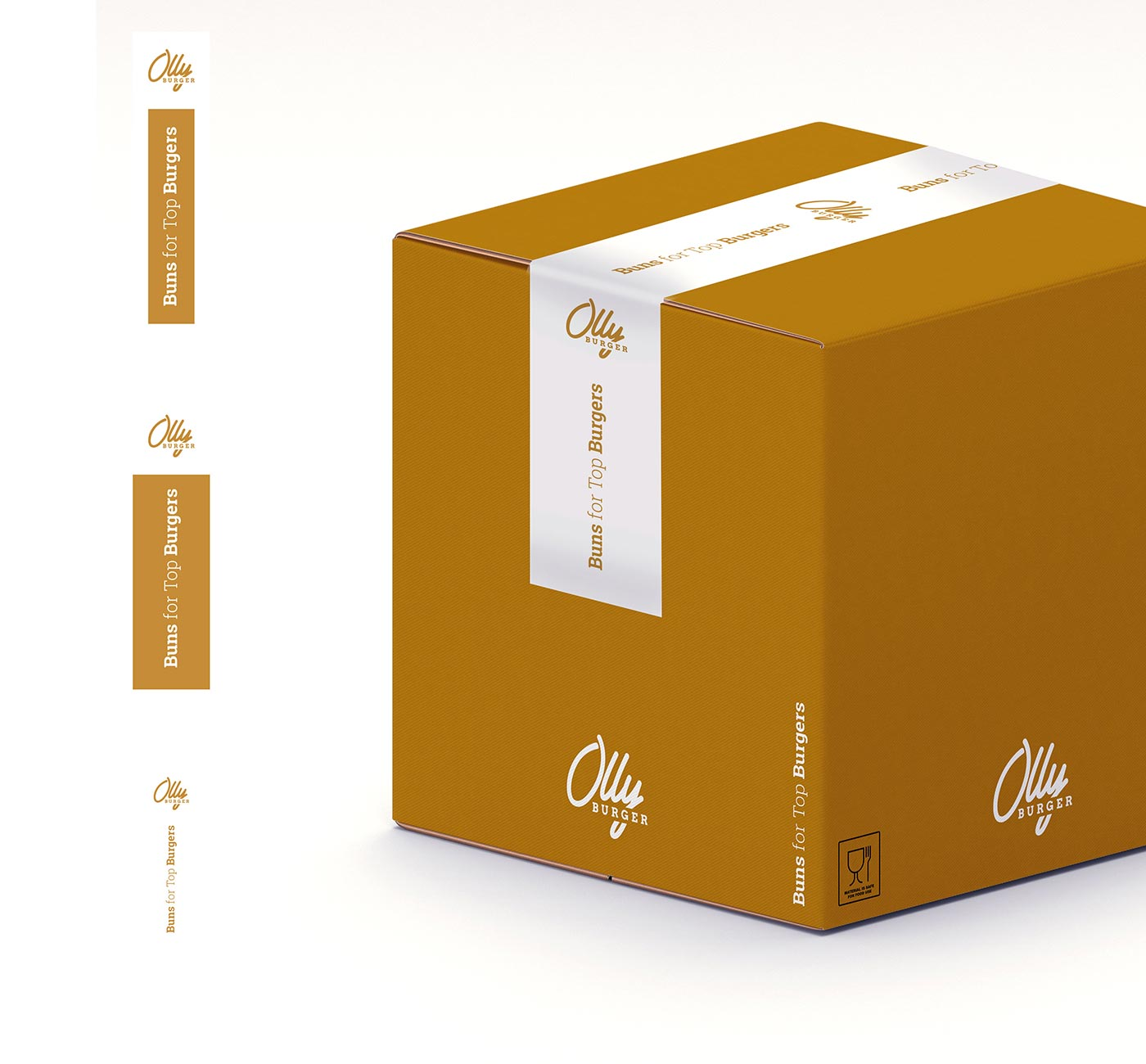 07 OLLY BURGER logotype grafico milano