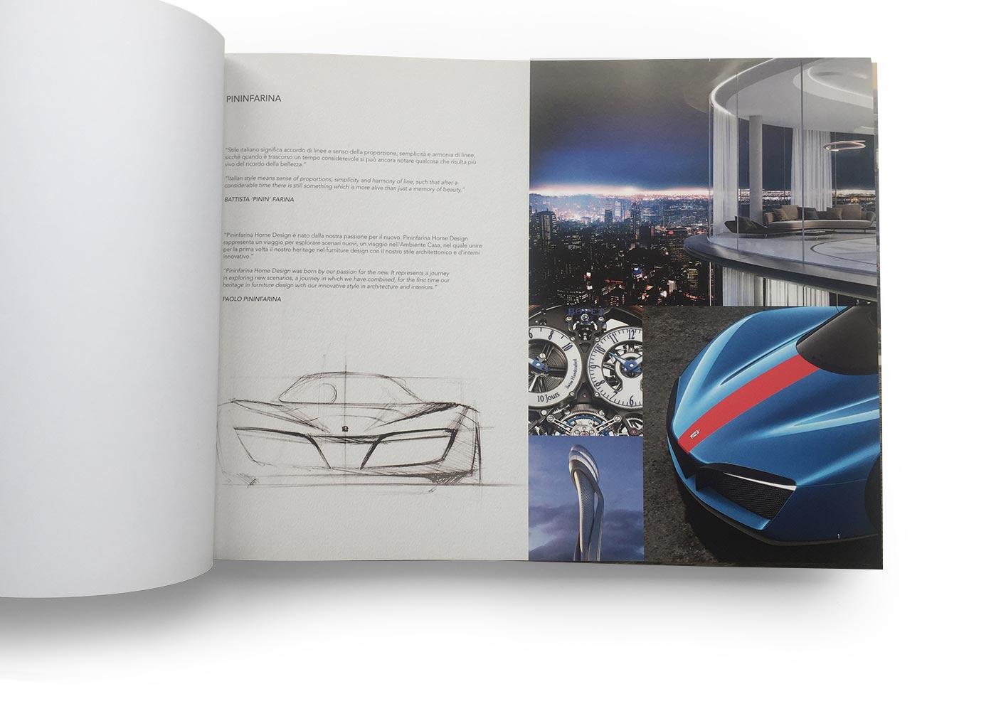03 catalogue reflex pininfarina grafico milano