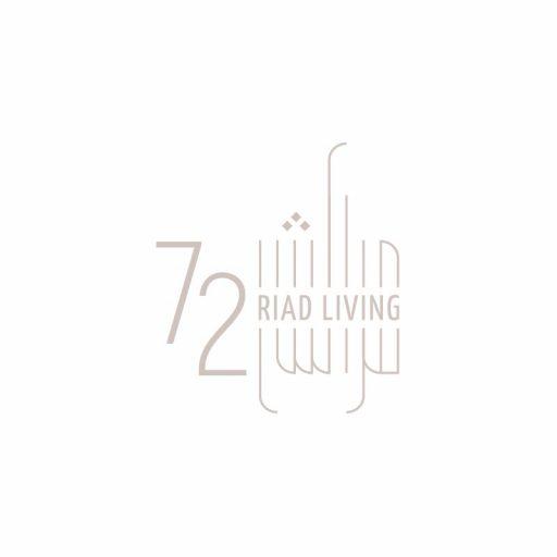 cover logo A RIAD LIVING 72 Marrakech grafico milano 03