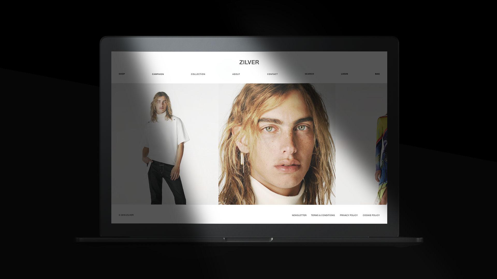 zilver web slie home grafico milano