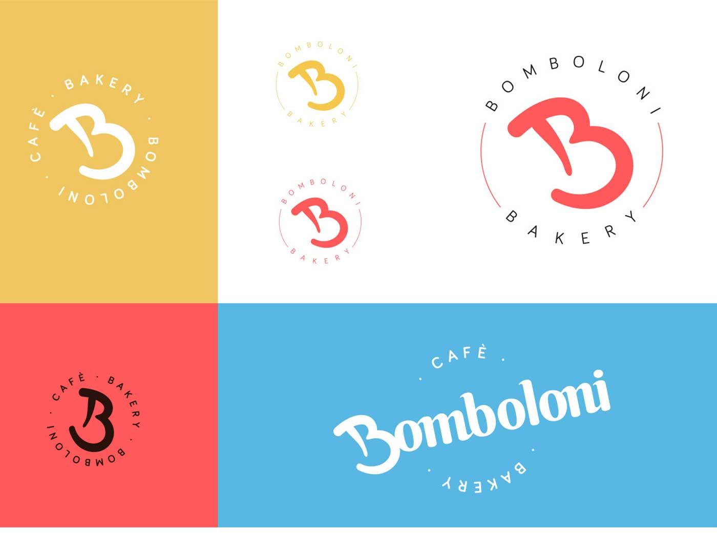bomboloni logotype 02 grafico milano