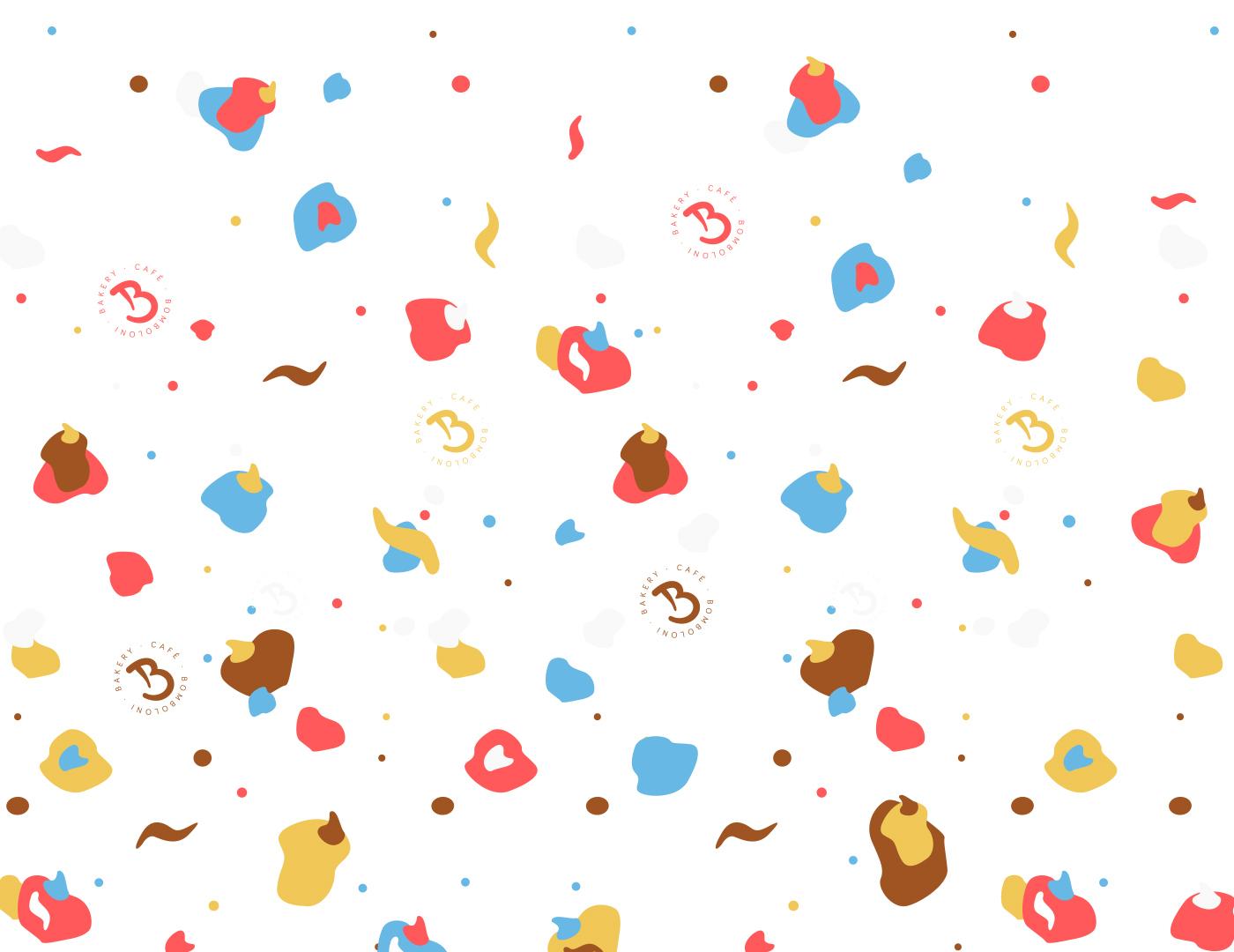 bomboloni pattern 02 grafico milano