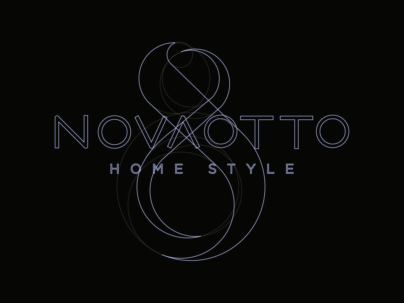 novaotto logo construction grafico milano