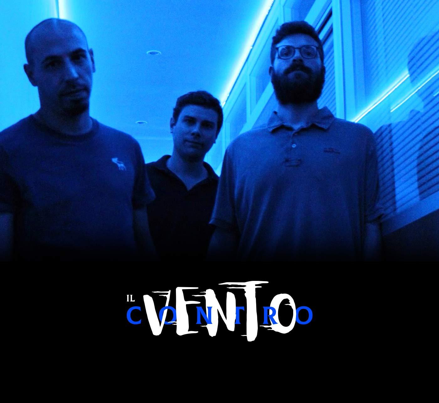 00 il vento contro band logotipo grafico milano
