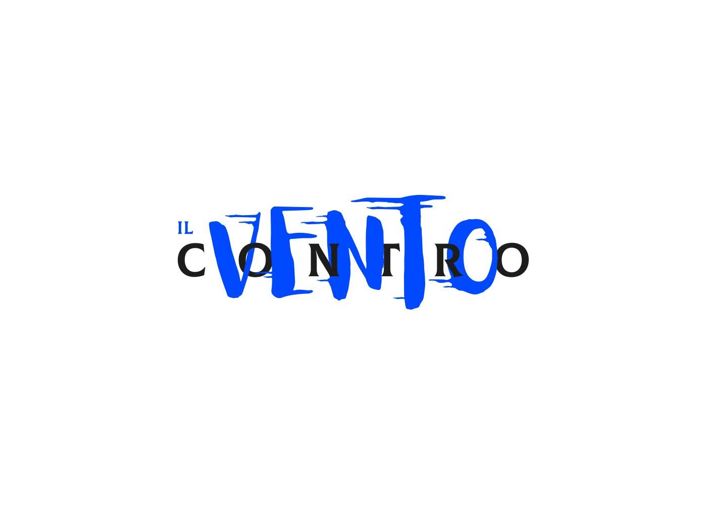 05 il vento contro band logotipo grafico milano