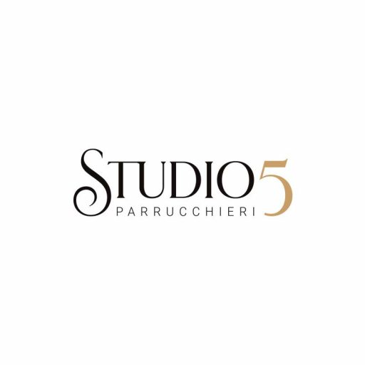 coverB logo studio5 parrucchieri grafico milano