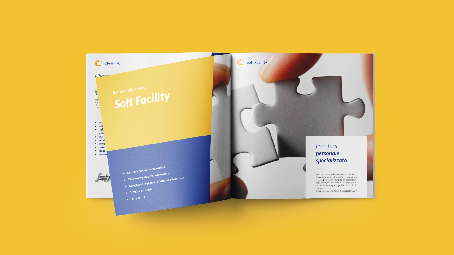 B2 mistral brochure company grafico milano