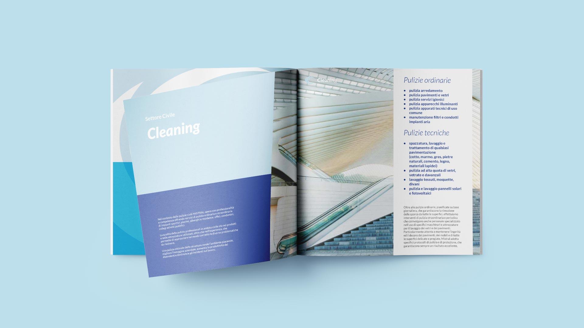 C1 mistral brochure civile grafico milano