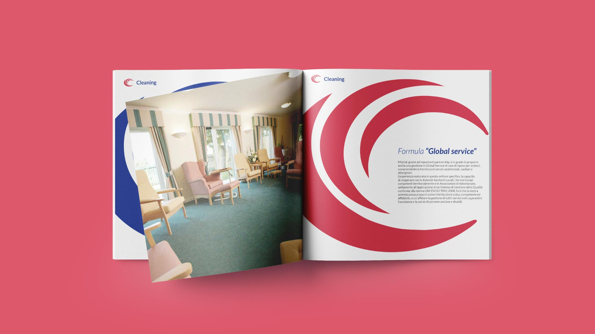 E2 mistral brochure sanitario grafico milano