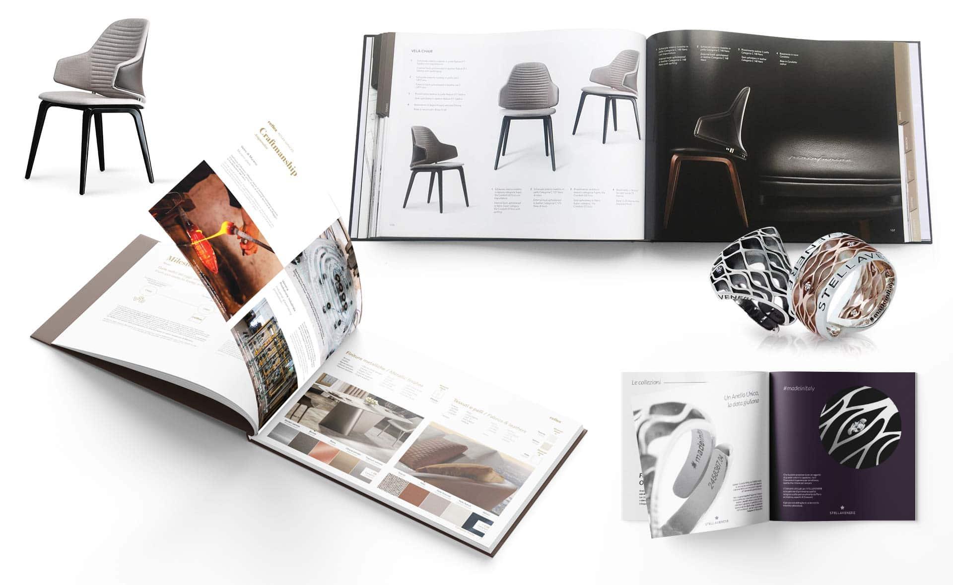 cataloghi brochure grafico milano