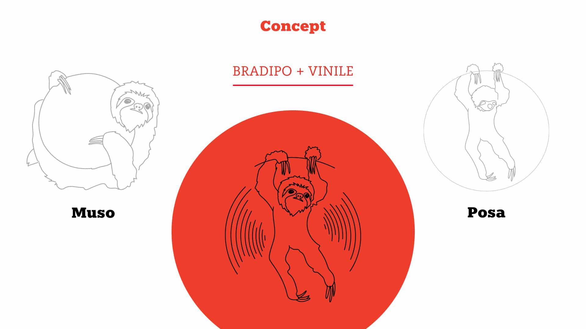 01 grafico milano logotype bradipo dischi