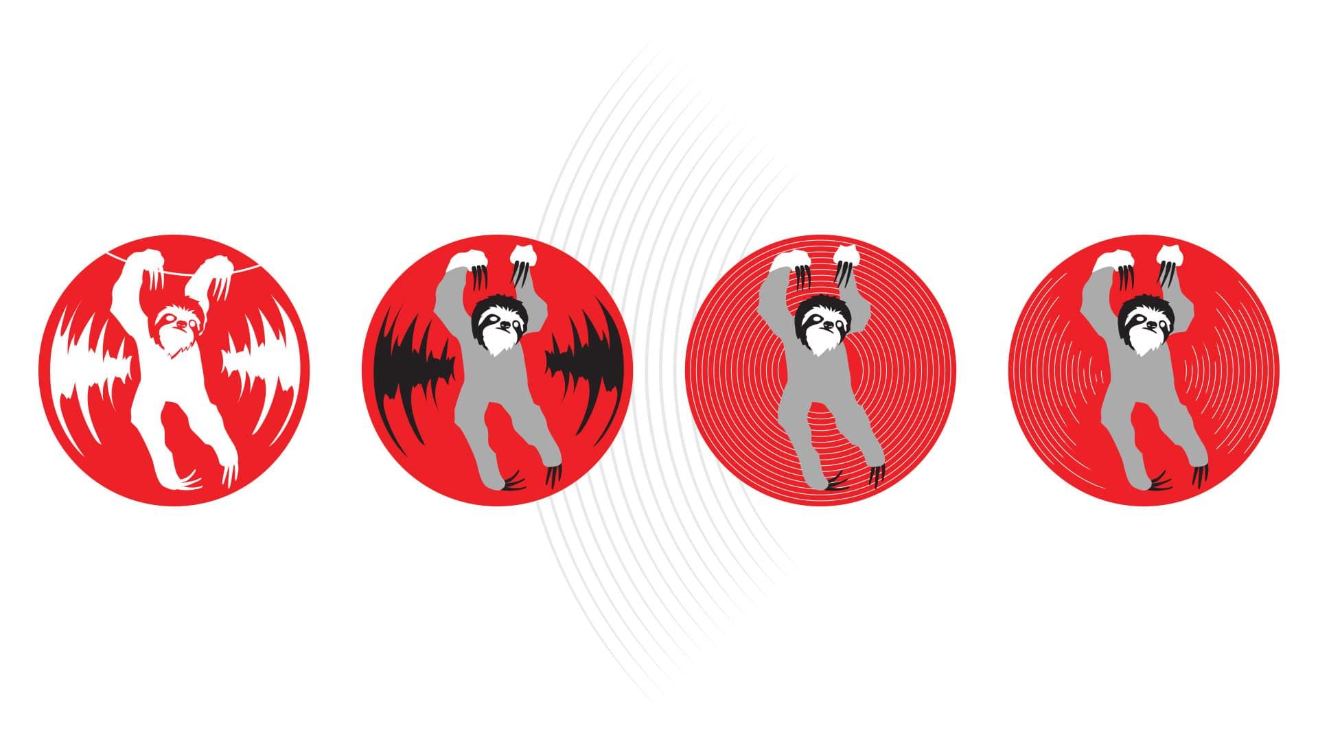 03 grafico milano logotype bradipo dischi