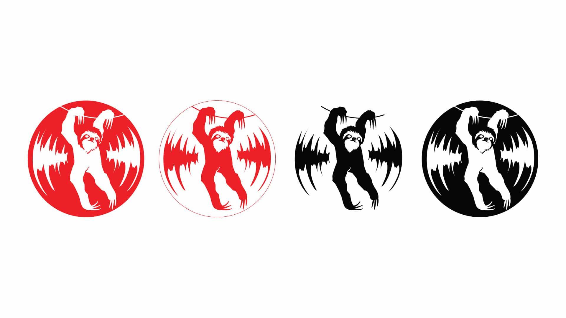 05 grafico milano logotype bradipo dischi