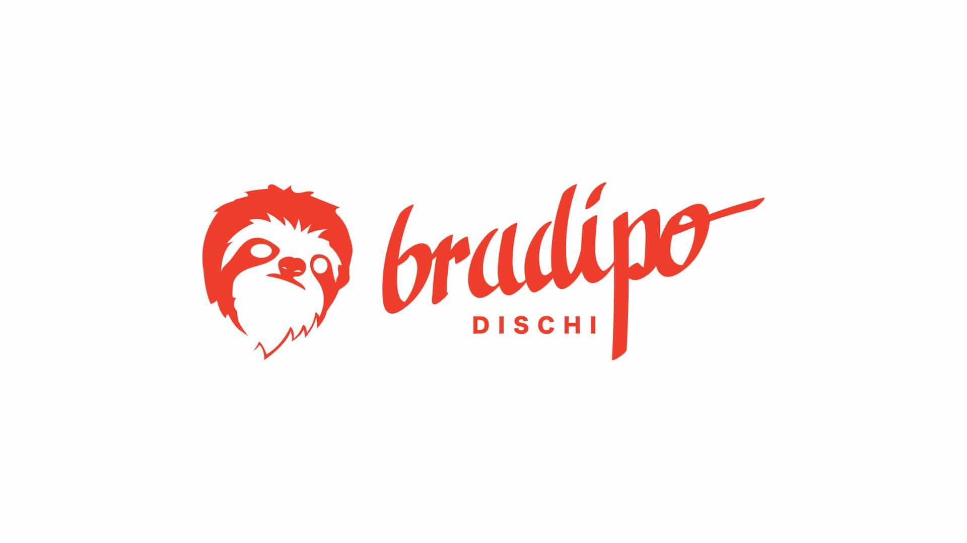 10 grafico milano logotype bradipo dischi