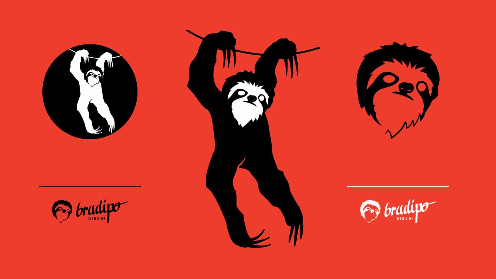 12 grafico milano monogram bradipo dischi