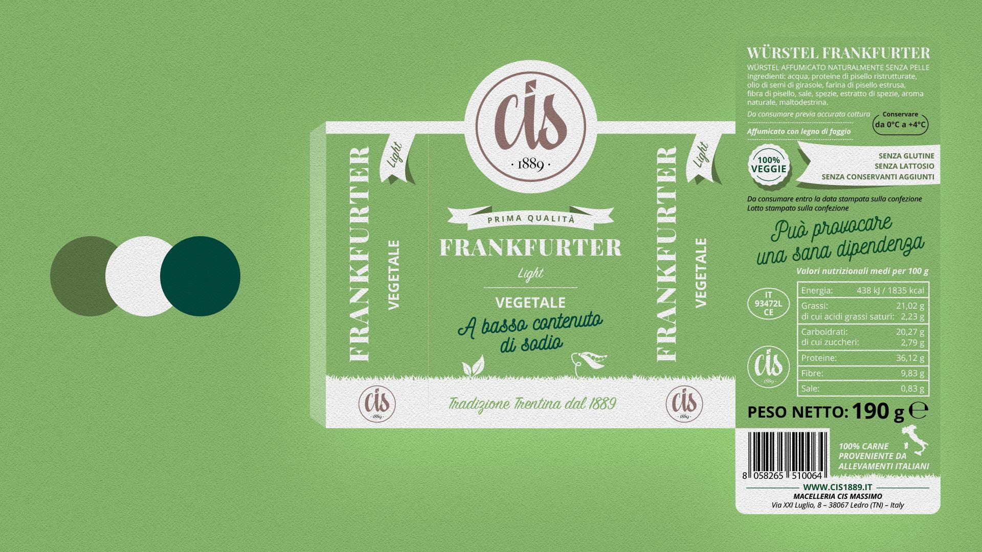 frankfurter CIS packaging grafico milano