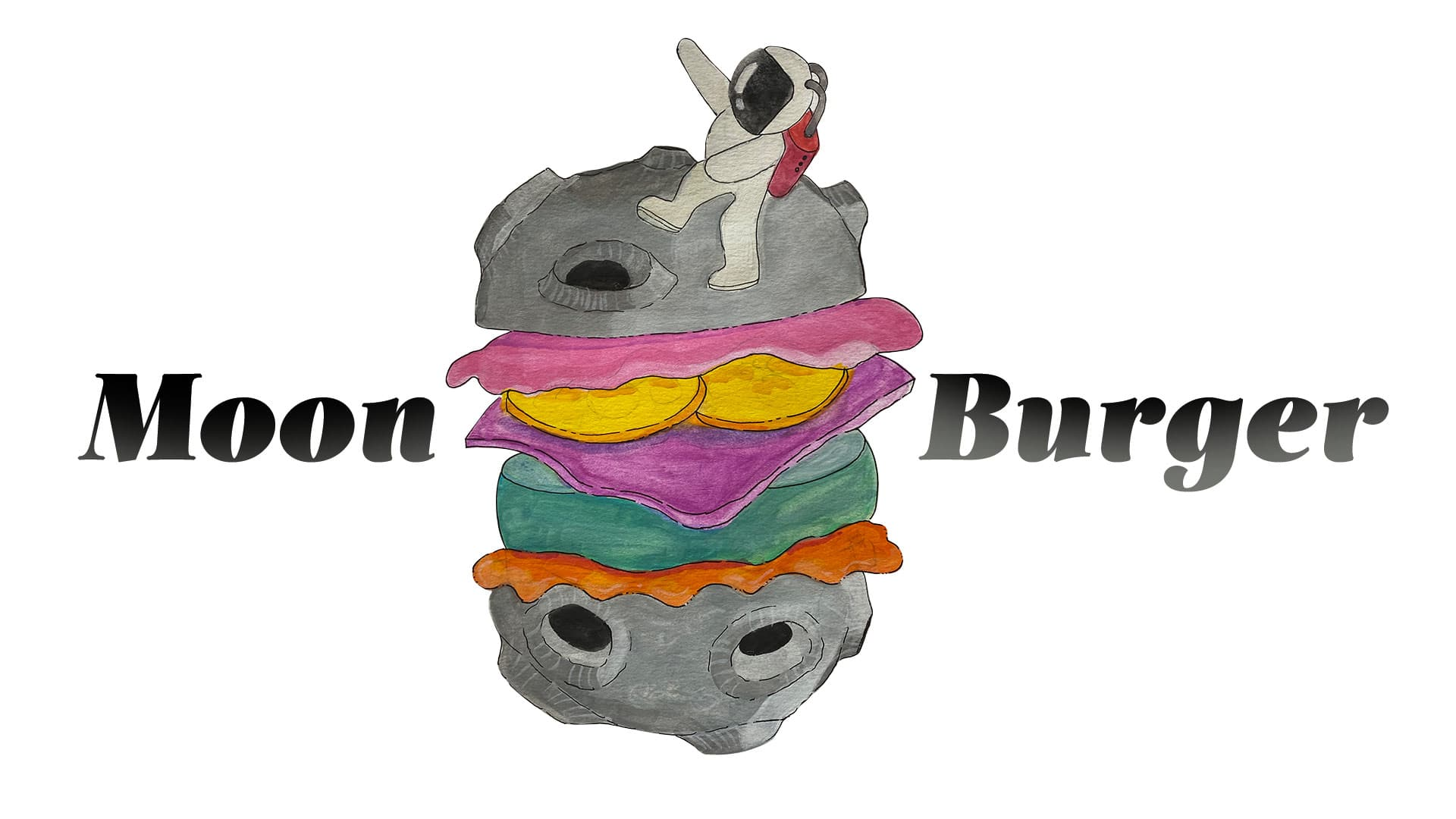 moon burger grafico milano logo