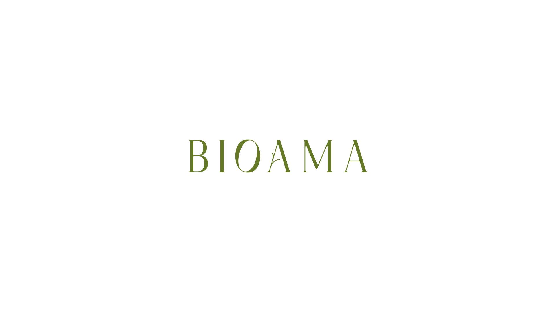 00 bioama logotipo grafico milano