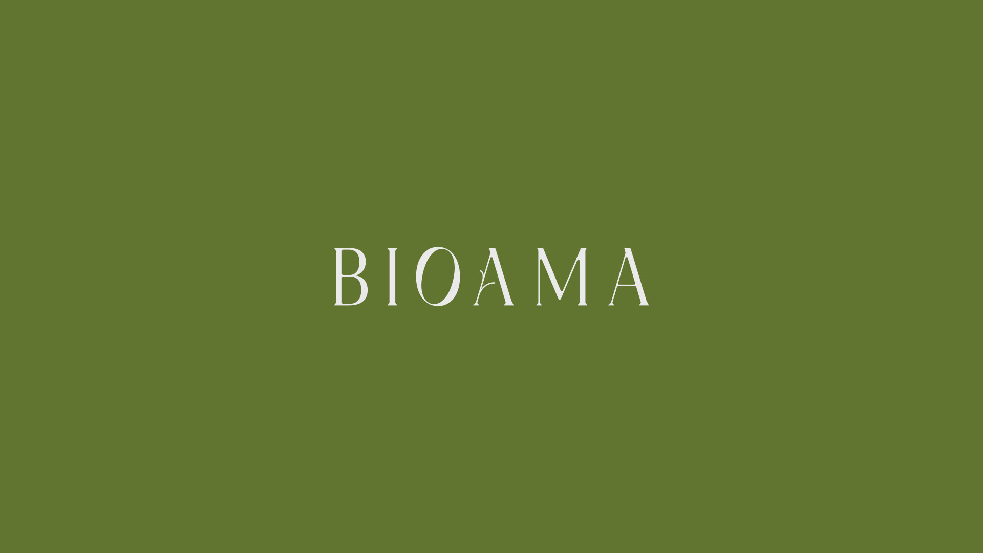 00 bioama logotipo green grafico milano