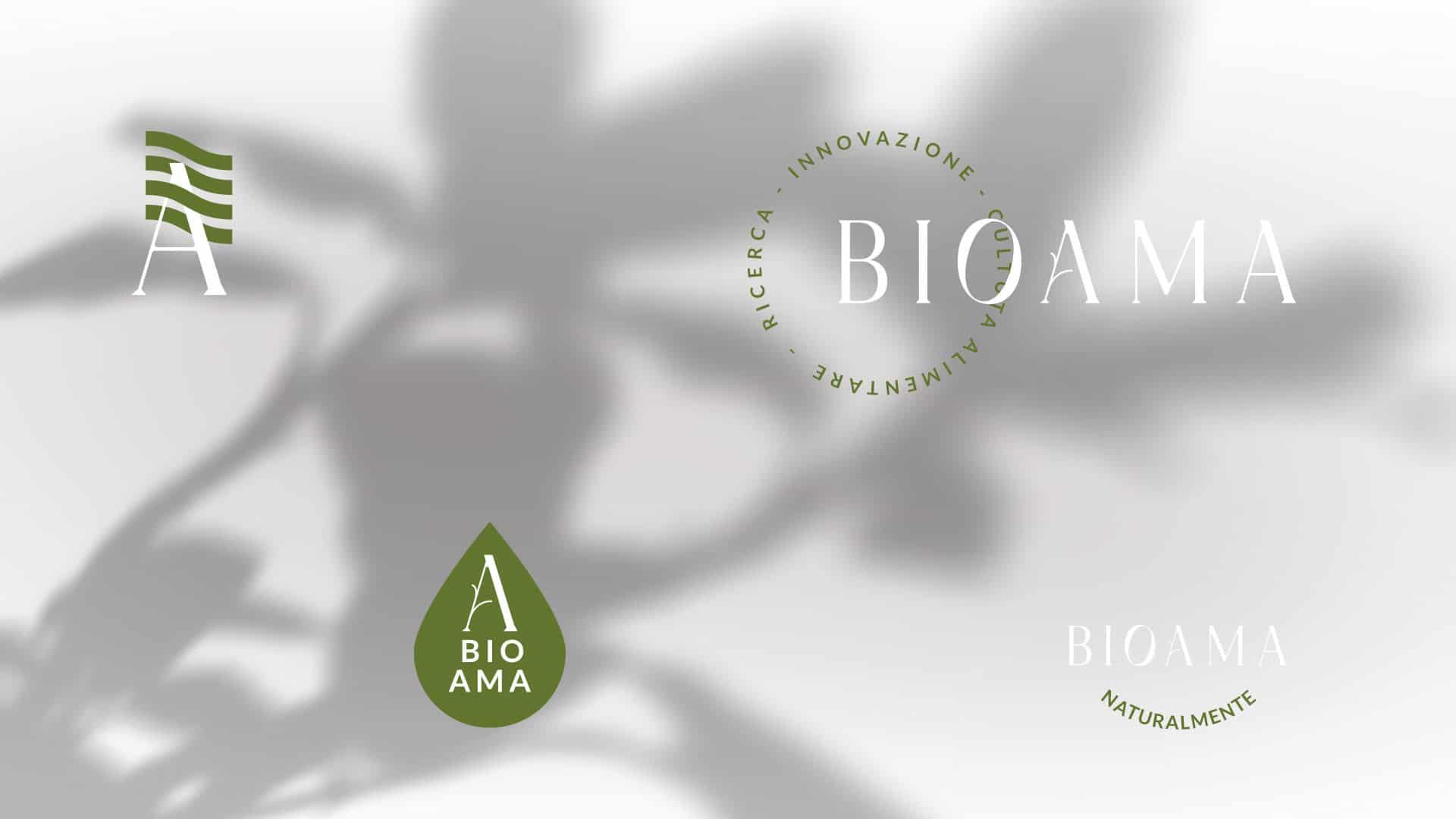 06 bioama logo declination grafico milano image