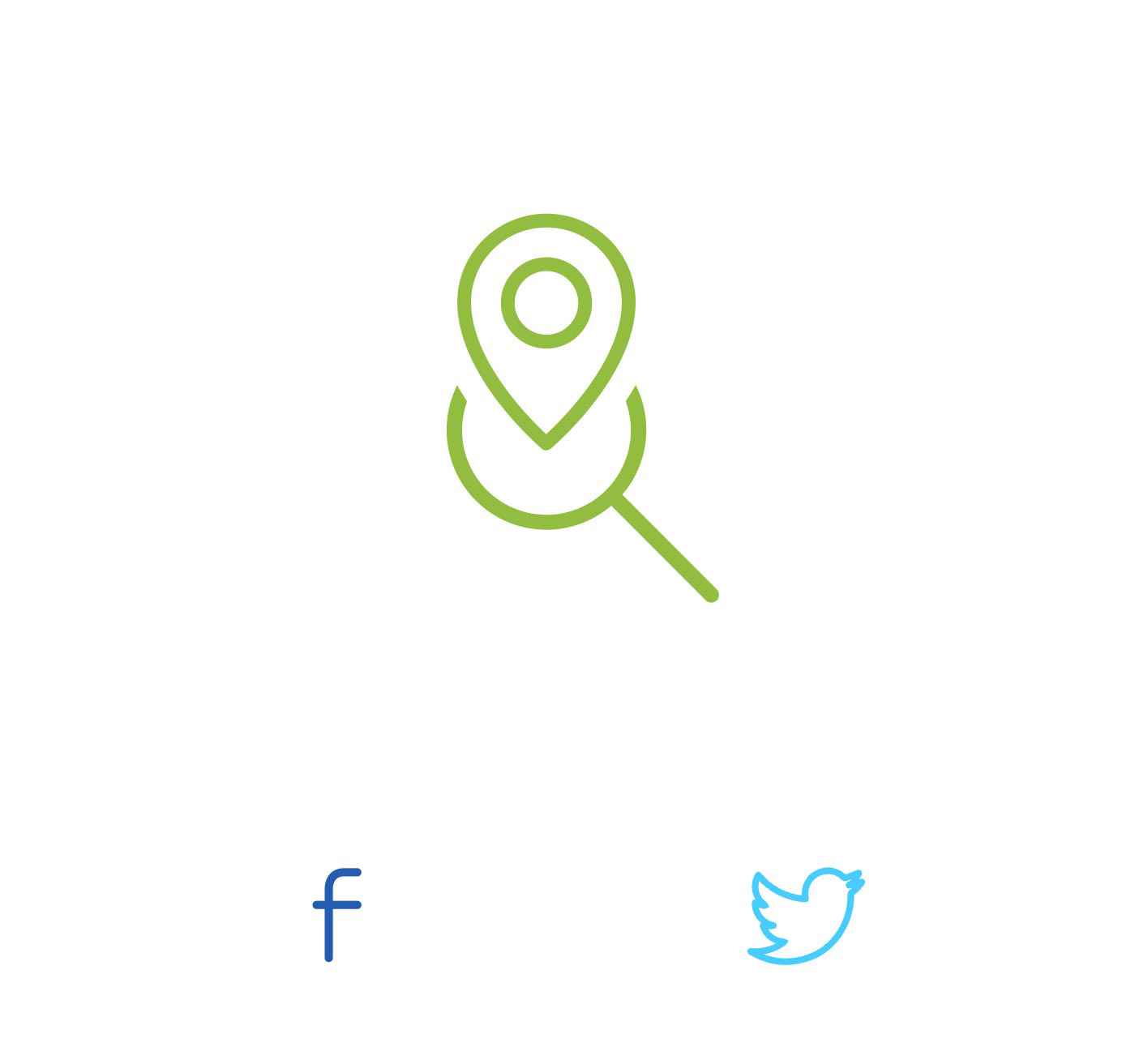 ECOSTORE icon store locator social