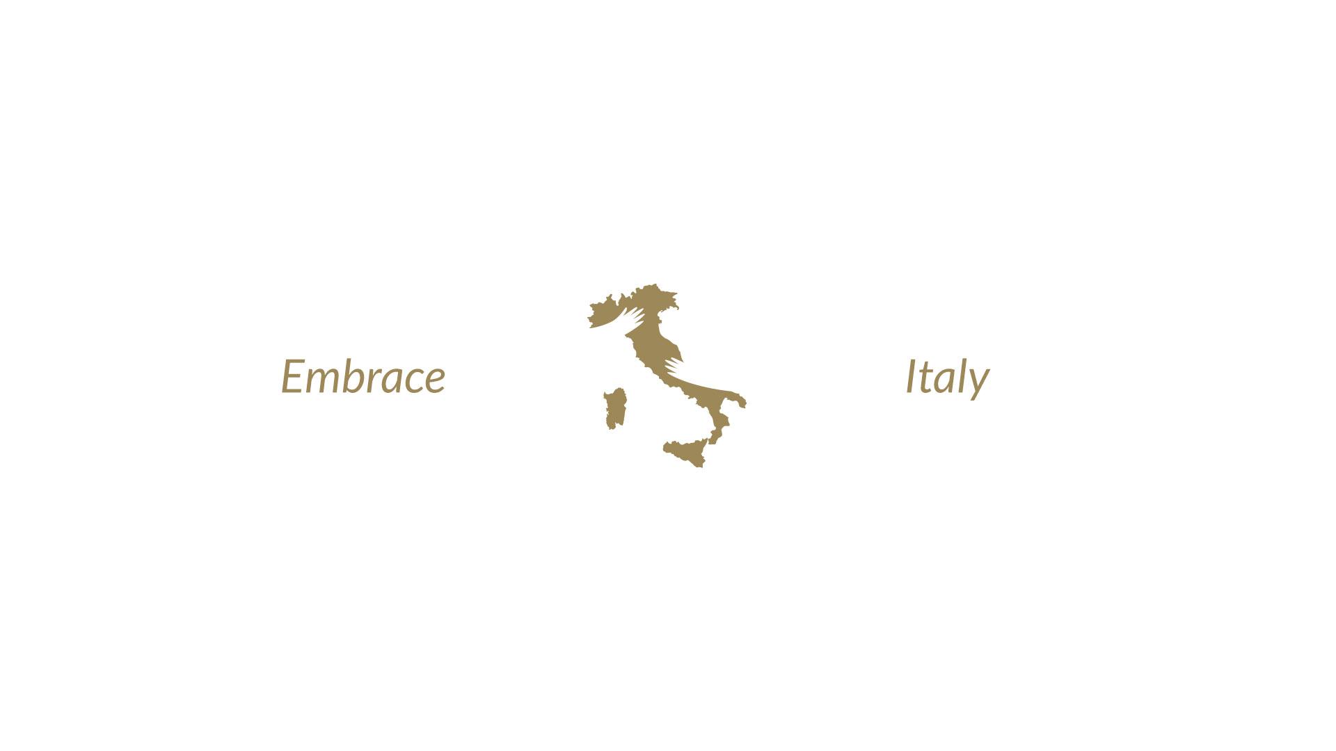 icone reflex embrace italy gold grafico milano 06