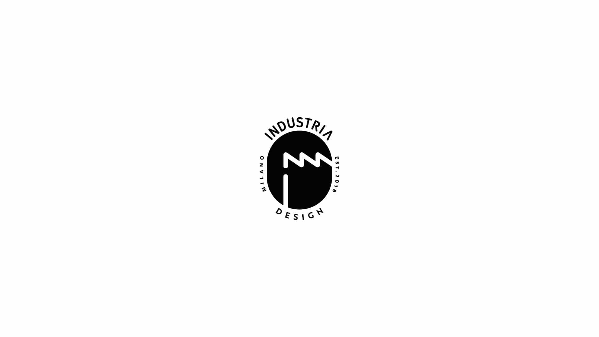 industria design logo stamp 01