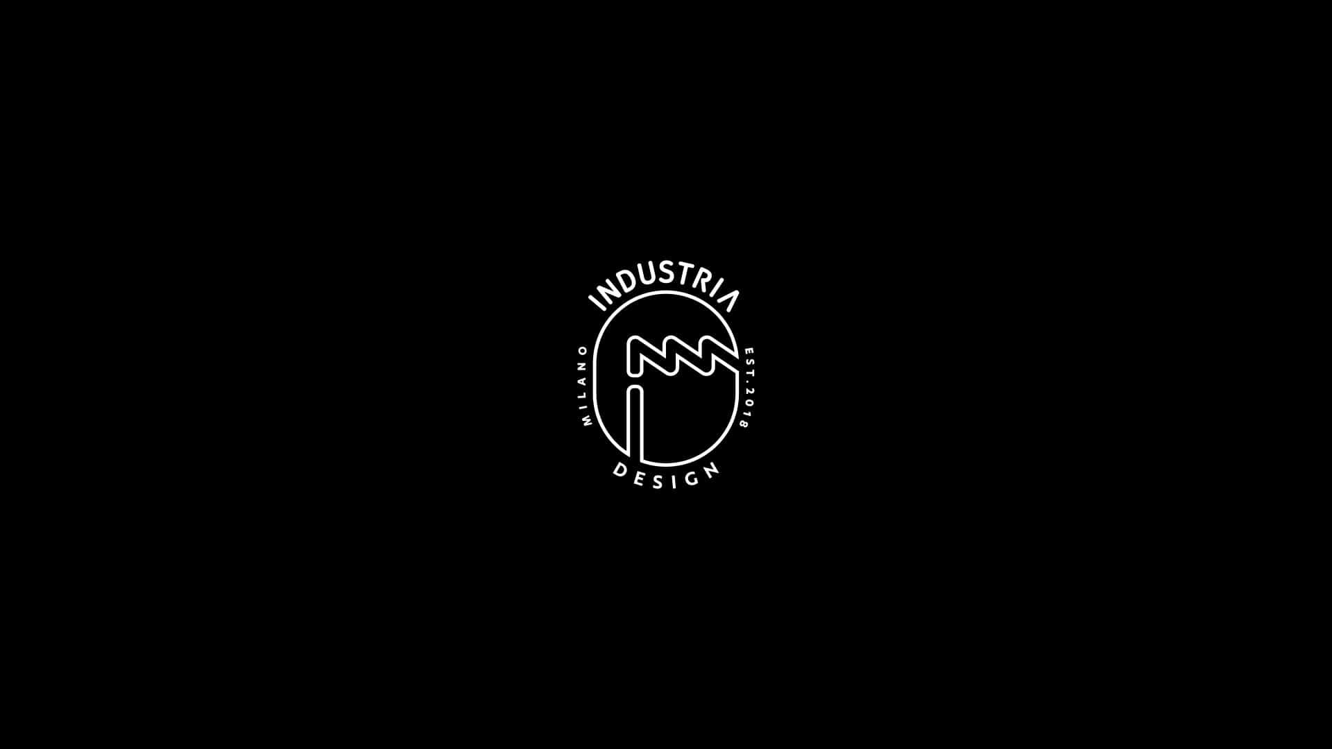 industria design logo stamp 02
