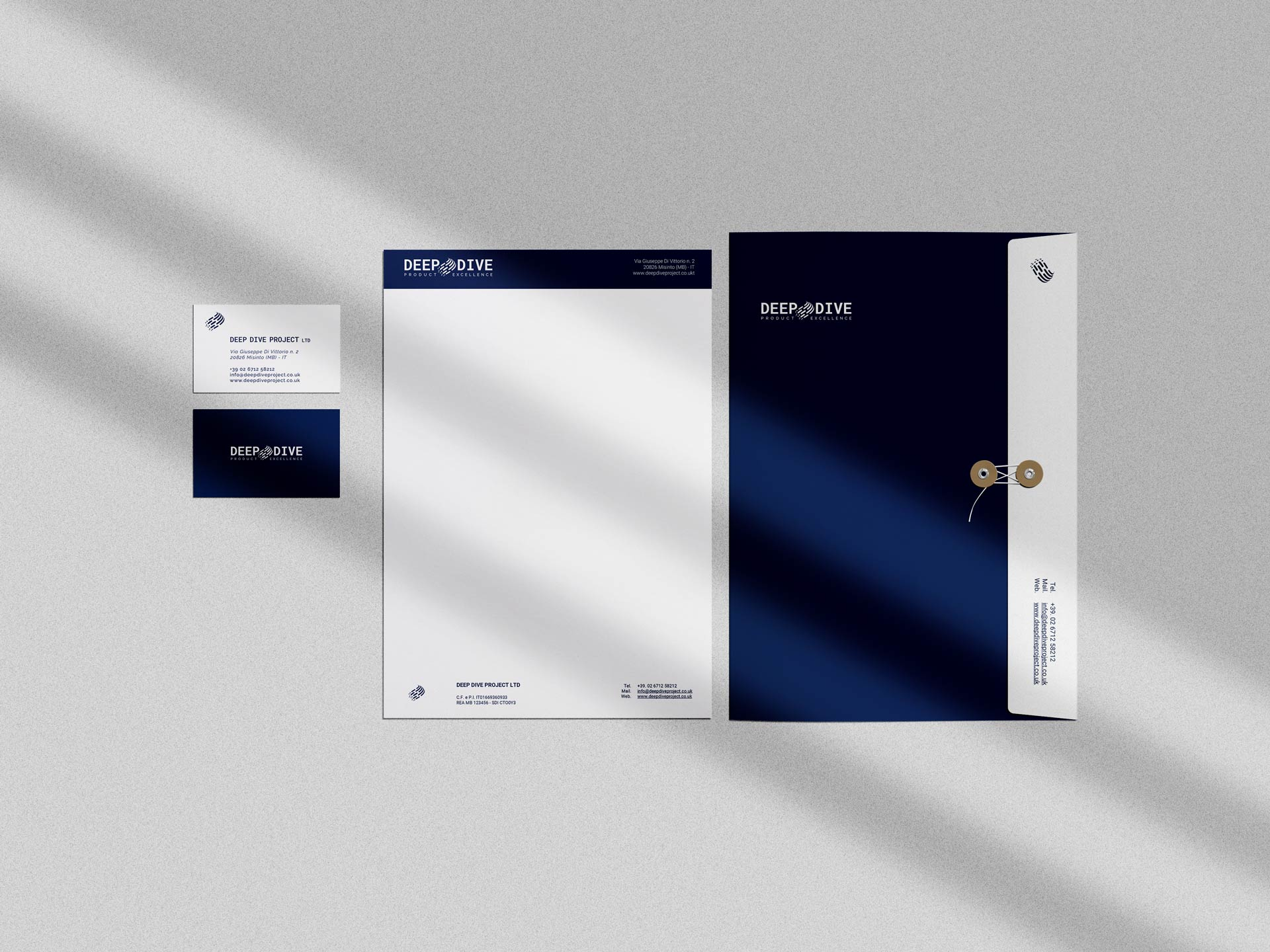 deepdive stationery