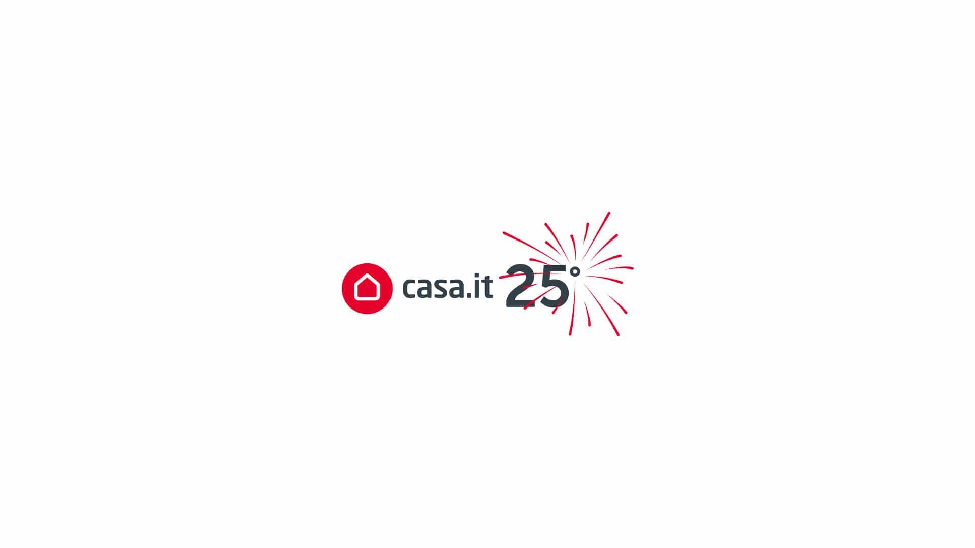 casait grafico milano 25anni logotipo